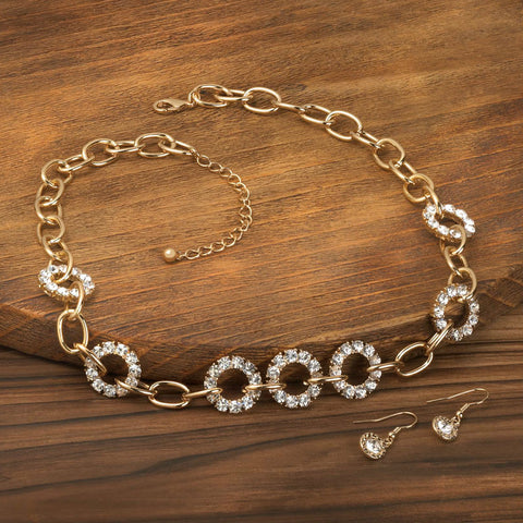 Precious Links Jewelry Set
