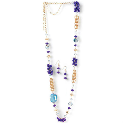 Regal Orchid Jewelry Set