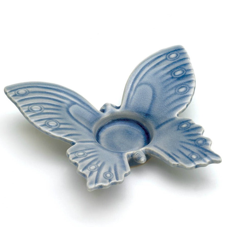 Blue Butterfly Tealight Holder
