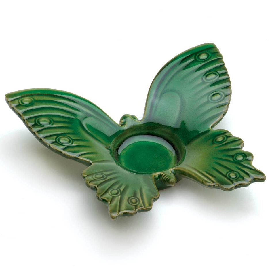 Green Butterfly Tealight Holder