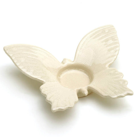 White Butterfly Tealight Holder