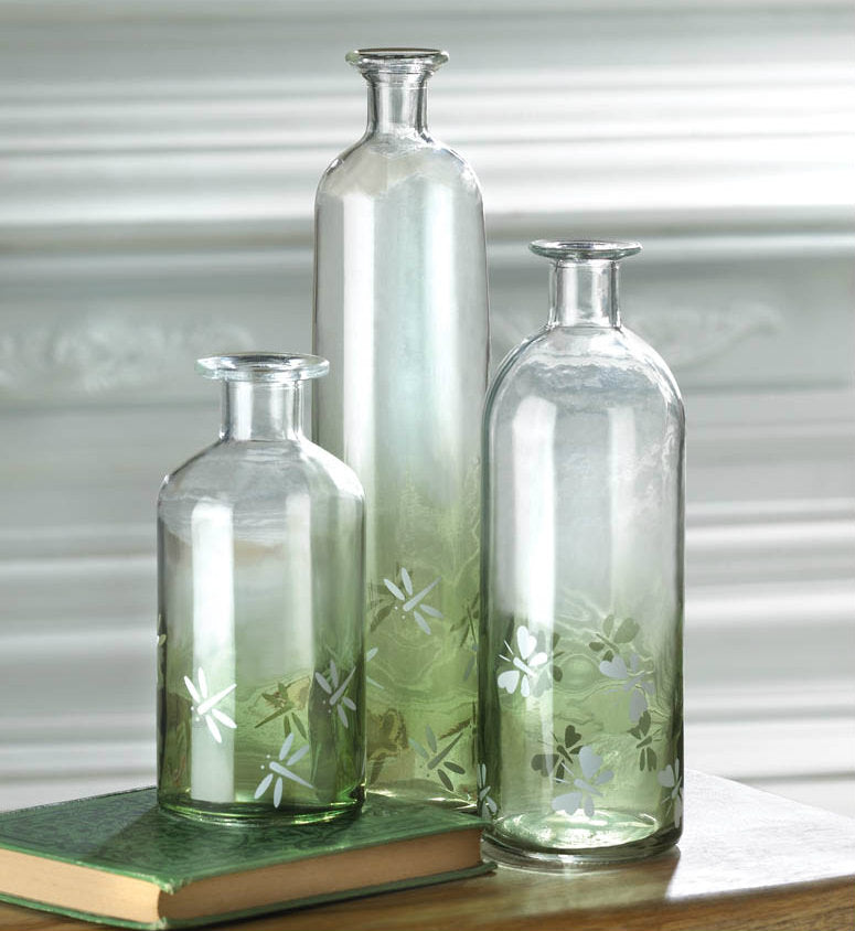 Apothecary Style Glass Bottle - Small