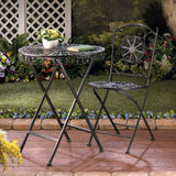 Fleur-De-Lis Patio Table