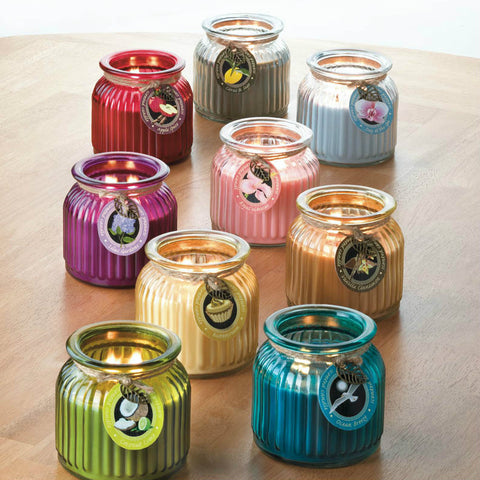 Long-Burning Jar Candle - Ocean Breeze