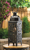 Giant-Size Black Medallion Lantern