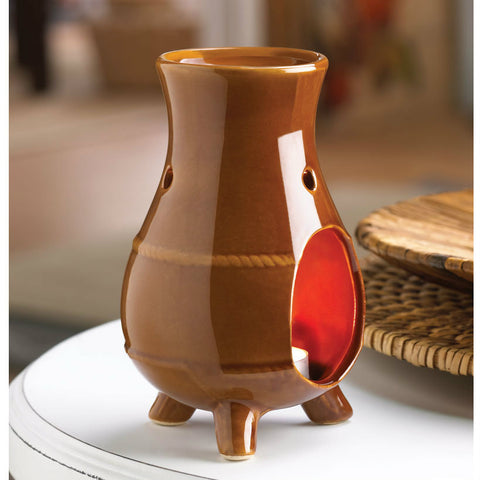 Earthen Oven Oil Warmer