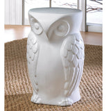 Ceramic Owl Stool or Stand
