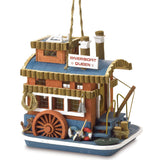 Riverboat Queen Birdhouse