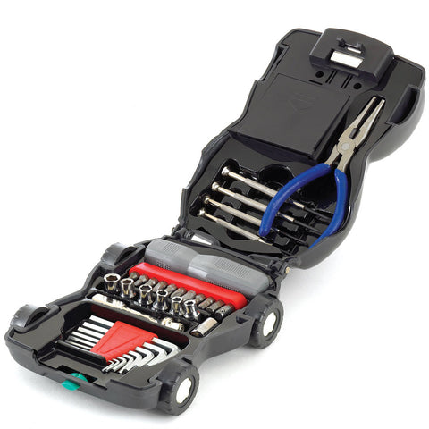 34-Piece Car Tool Kit With Flashlight