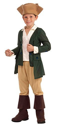 Forum Novelties Paul Revere Costume, Child Medium