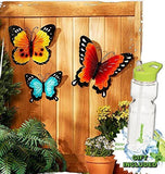 Indoor Outdoor Summertime StyleMetal Wall DecorFence, Porch Hanging