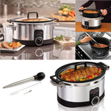 Die-cast Cookware Hamilton Beach 6-Quart Programmable Slow Cooker