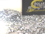 800 Diamond Table Scatter Confetti 4 Carat/ 10mm Clear / Silver
