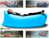 Inflatable Air Bed Portable Sleep Lounger