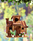 Decorative Wood Creative Birdhouses - Unique Birdhouses