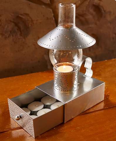 Decorative Old-Fashioned Vintage Accent Lighting Candleholder Tea Light Set