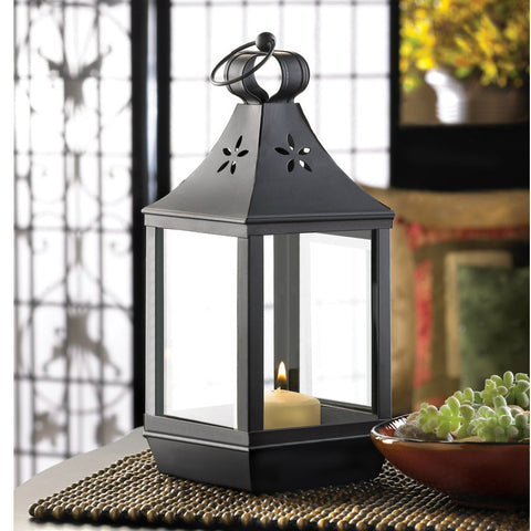Carriage Style Candle Lantern - 12 inches