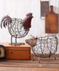 rustic farmhouse kitchen rooster