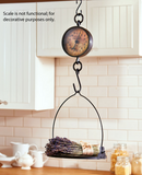 Decorative Antiqued Rustic Country Kitchen Farmhouse Scale
