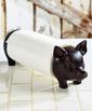farmhouse kitchen decorating  Pig paper towel holder