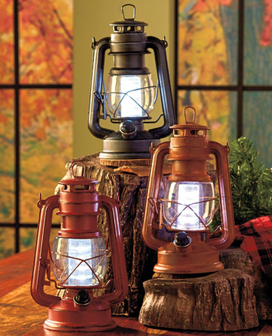 Battery Operated Rustic Metal Home Lanterns Decorative Lamp With Dimming  Feature ...