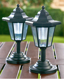 Solar Powered Garden Lanterns Decorative Solar Stake Lights Set of 2