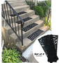 Traction Control Non-Slip Rubber Unique Stair Tread Mats home