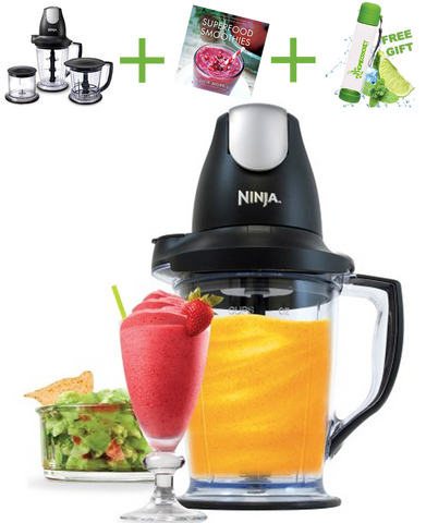 Ninja Master Prep Pro, + Superfood Smoothies: 100 Delicious, Energizing & Nutrient-Dense Recipes