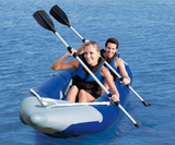 Ozark Trail 2-Person Bolt Inflatable Kayak with 2 Oars, Pump and Carry Bag
