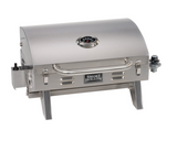 Smoke Hollow 205 Stainless Steel Tabletop BBQ Gas Grill Great for camping, boating and tailgating