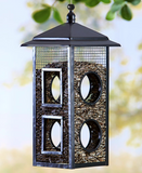 Garden Bird Watching Feeding Station Hanging Fly Through Bird Feeder
