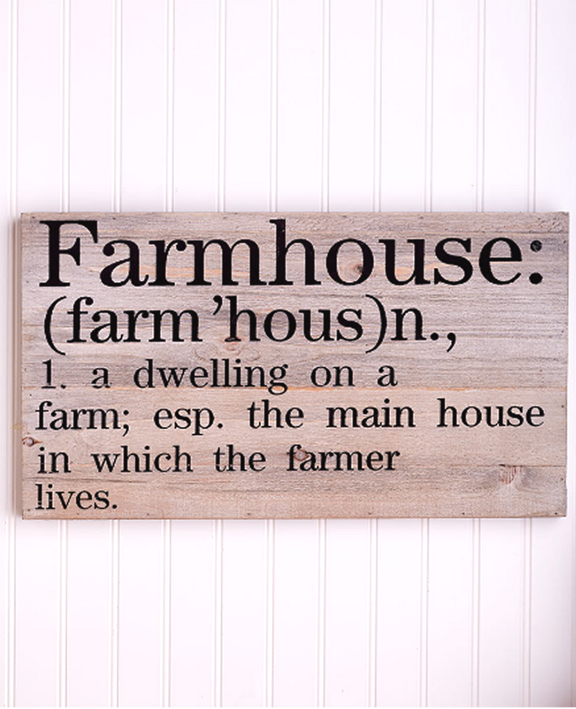 Country Farmhouse Wall Decor Wooden Wall Art Plaque