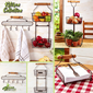 Rustic Farmhouse Kitchen Baskets & Holder Collection