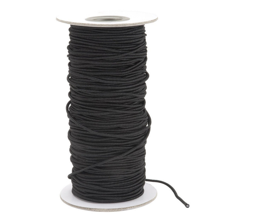 Darice Elastic Cording, 2mm, Black Elastic Cording 72 Yards For Creating All Typ
