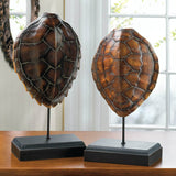 Spiny Turtle Shell Stand Decor