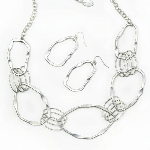 Woven Circles Jewelry Set