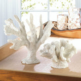 Tall White Coral Decor