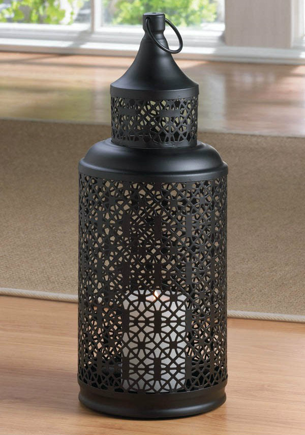 Screened Tower Candle Lantern - 16.5 inches