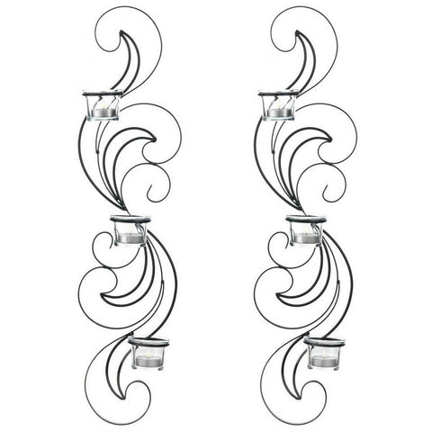 Wisp Candle Sconce Set