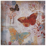 Muted Butterflies Canvas Wall Art