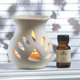 Sandalwood Oil Warmer Set