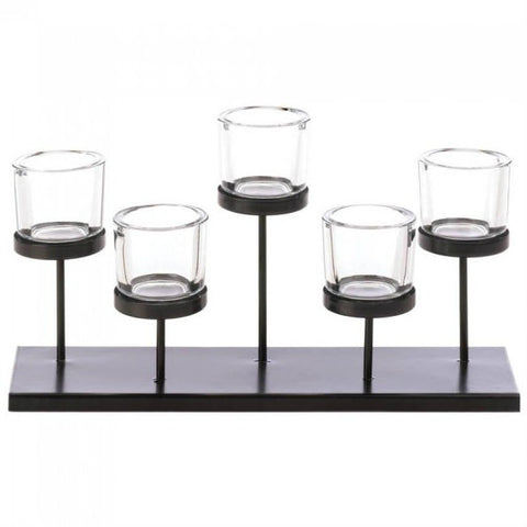 5 Cups Staggered Candleholder