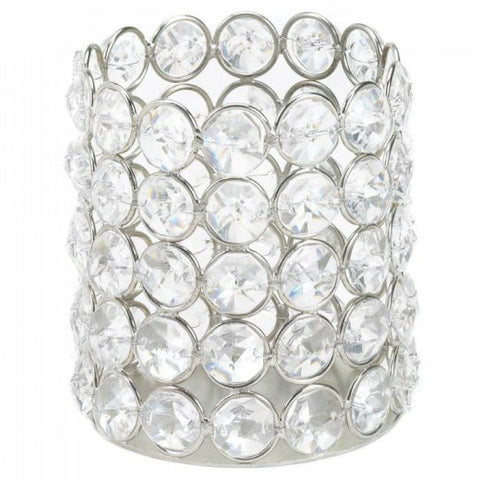 Super Bling Cylinder Candle Cup