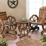 Wagon Wheel Table