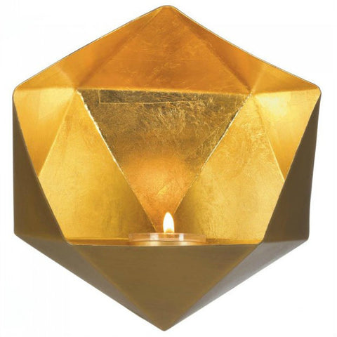 Geometric Wall Sconce - Gold