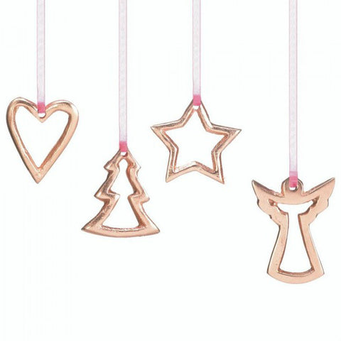 4-Piece Mini Ornament Set
