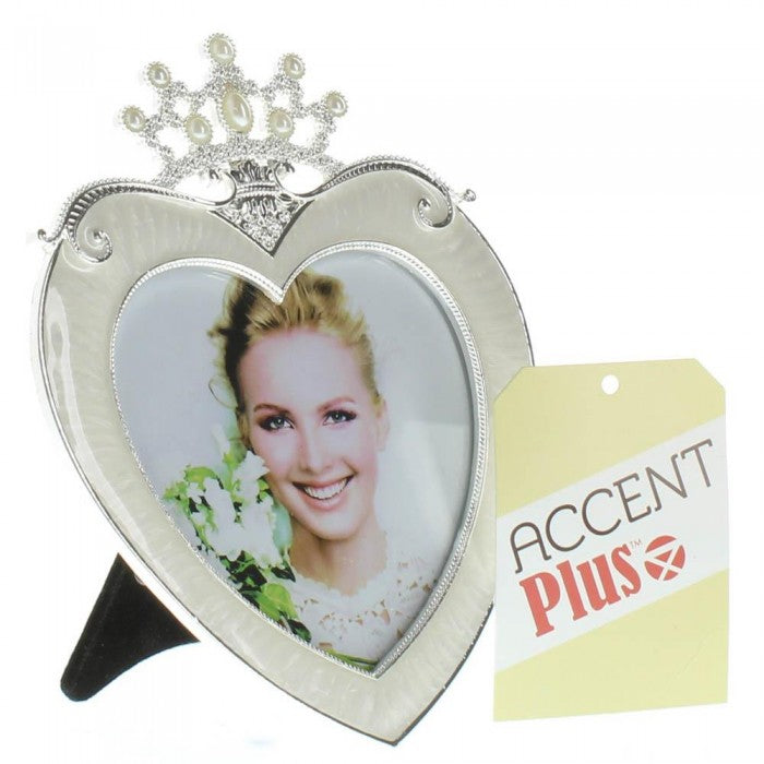 Crown Heart Frame 3X3