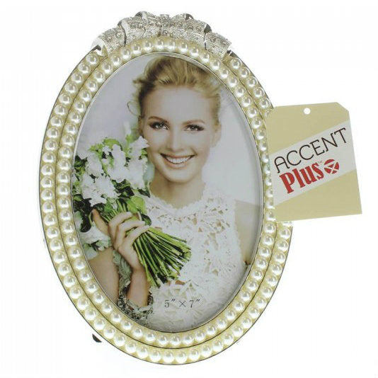Strands Of Pearl Photo Frame 5X7