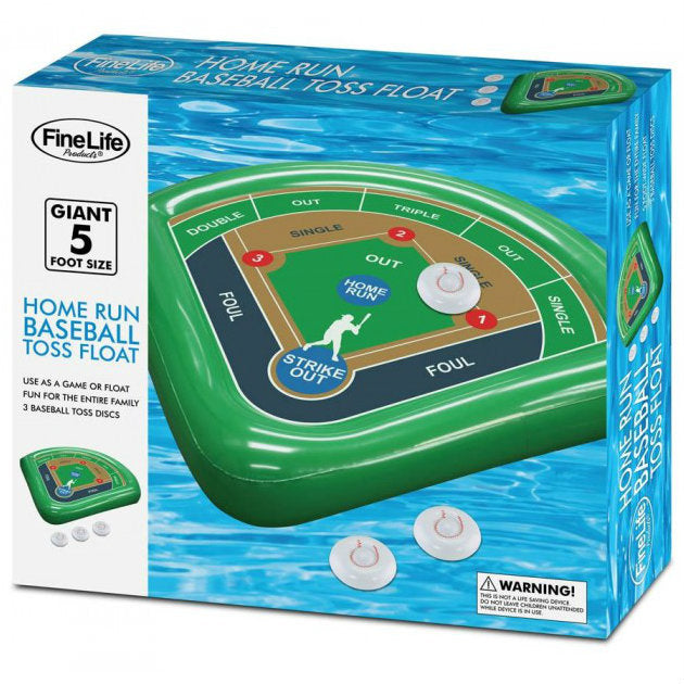 Homerun Baseball Toss Pool Float