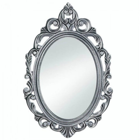 Silver Royal Crown Wall Mirror